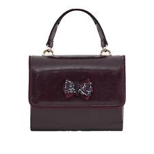 Ruby Shoo Women's Burgundy Casablanca Box Bag (Matches Camilla Heels)