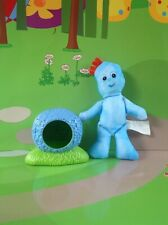 In The Night Garden Iggle Piggle Figure & Bush - Ideal Cake Topper/Decorations!!