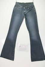 Levis 544 Flare Bootcut Cod. J885 Tg42 W28 L34 vaqueros usados Mujer Talle Bajo