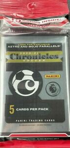 Lot of 10 - Panini Chronicles 2020-2021 Soccer Fat Cello Multi Pack New Sealed