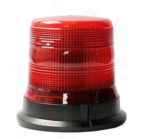 ManyWain LED Kennleuchte E138-H rot ECE R65 Warnleuchte Festmontage