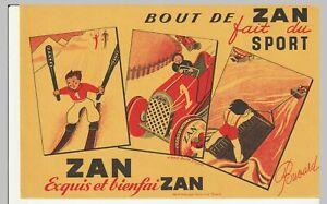 BUVARD  bout de zan fait du sport (ski- automobile...)