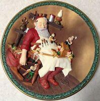 "Norman Rockwell ""While Santa Slumbers"" Rockwell's Christmas Legacy"