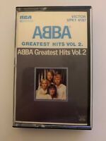 ABBA GREATEST HITS VOL. 2 (1979) CASSETTE TAPE **Rare**