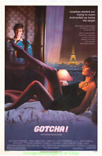 GOTCHA!  MOVIE POSTER Original 1985 SS 27x40 LINDA FIORENTINO ANTHONY EDWARDS