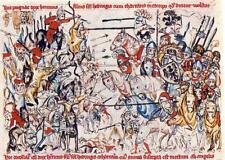 Battle of Legnica Poland 1241 Teutonic Knights Templar Mongols 7x5 Inch Print