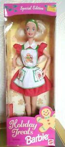Mattel Barbie Holiday Treats Weihnachten Christmas 1997 NRFB