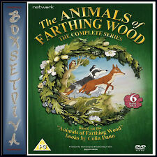 The Animals of Farthing Wood: The Complete Series (DVD, 2016, 6-Disc Set)