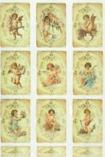 Carta di riso per Decoupage Scrapbook Craft sheet PICCOLI ANGELI
