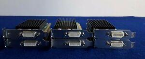Job lot of 6x HP 625629-002 700578-001 NVIDIA NVS 300 P1035 512MB PCIE WIN 10