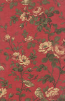 """Moda 3 Sisters Fav Rouge Red Floral Quilting Fabric 100% Cotton 44"""" Wide SBY"""