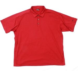 NIKE GOLF Mens Waffle Polo Textured Jersey Performance Fit Dry Wicking T-shirt