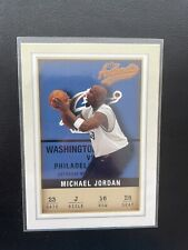 Michael Jordan 2001-02 Fleer Authentic #16 Chicago Bulls Washington Wizards