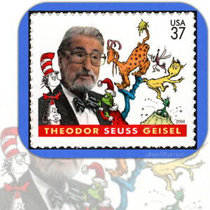 2004  DR. SEUSS  The Cat in the Hat  Green Eggs & Ham  MINT Single Stamp  # 3835
