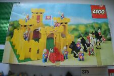 LEGO  VINTAGE BOITE 375  a compléter