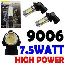 9006 HB4 7.5W High Power SMD Bright White LED Fog Light CREE Bulbs 6000K 1 Pair
