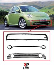 FOR VW BEETLE 1998 - 2005 NEW FRONT BUMPER LOWER GRILLE FRAME FULL SET 3X PART