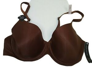 Ambrielle 36B Ladies Bra band Brown  New Lightly lined Full Coverage