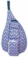 KAVU Mini Rope Sling Bag Kid Polyester Crossbody Shoulder Backpack JEWEL Chevron