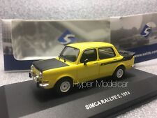 SOLIDO 1/43 Simca 1000 Rally 1974 Yellow Art. 4302900