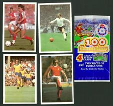 Leaf Brands - 100 Years of Soccer Stars - Wrapper & Stickers