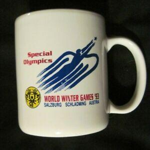 Special Olympics World Winter Games 93 Salzburg Schladming Austria Ceramic Mug