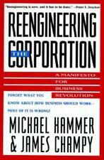 REENGINEERING THE CORPORATION, Michael Hammer & James Champy~1993~1st Ed/14th P.