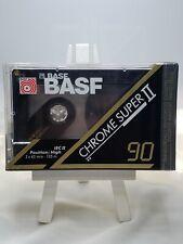 BASF  CHROME SUPER  II  90 VS. III      TYPE II     BLANK CASSETTE TAPE (SEALED)