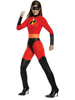 Adult's Womens Classic The Incredibles 2 Mrs. Incredible Costume