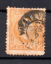 Netherland Indies 1870 2 1/2c #7F fine used WS17142