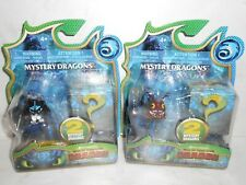 HTF HTTYD The Hidden World HOBGOBBLER & BABY NIGHT LIGHT FURY 2x Mystery Dragons