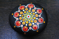 Mandala hand painted stone. Great gift or home decoration.
