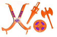 PRE-ORDER Vintage MOTU Custom ORANGE CHEST ARMOR & WEAPONS SET