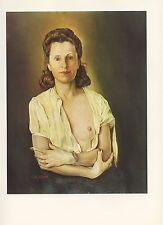 "1976 Vintage SALVADOR DALI ""GALARINA"" FABULOUS COLOR Art Print Lithograph"