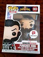 Funko POP Contest Of Champions Punisher 2099 Gamer Verse Walgreens Exclusive 303