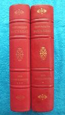 J.J. ROUSSEAU / LES CONFESSIONS - 2 TOMES - ILLUS. DE MAURICE LEROY -1954-55 -