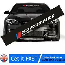 M performance car windscreen windshieldsticker for BMW E30 E36 E60 E46 E90 E71