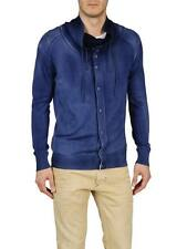 DIESEL K-DIONISO NAVY CARDIGAN SIZE L 100% AUTHENTIC