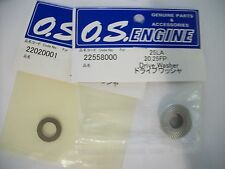 OS.25 LA & .20-.25 FP,ALSO MAX DRIVE WASHER & THRUST WASHER NIP