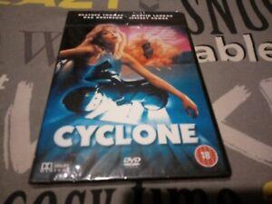 Cyclone DVD Heather Thomas Dar Robinson Release R2 New sealed slim case