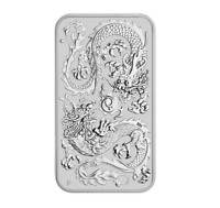 Rectangle Dragon | Australien 2020 Drache Silbermünze Münzbarren 1 oz 9999
