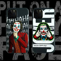 Joker Film Funny Face Soft Slim Phone Case Cover For iPhone11Pro 78Plus XR XsMax