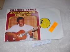 LP Ethno Francis Bebey - Afrikanischer Frühling (7 Song) MARIFON Gruner+Jahr
