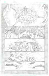 Diego Bernard Hellwitch Issue 1 Page 39 Original Art