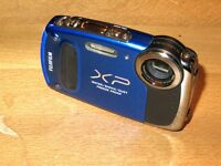 Fujifilm FinePix XP Series XP50 14.4MP Digital Camera - Blue not working
