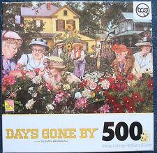 jigsaw puzzle 500 pc Days Gone By Ladies Garden Club Susan Brabeau tcg