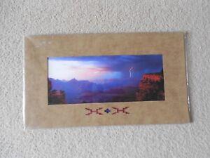 Dramatic Grand Canyon Sunset, Signed Art Photo by K. V. Johnson