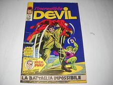 L' INCREDIBILE DEVIL NUMERO 27 CON ADESIVI EDITORIALE CORNO 1971 GADGET