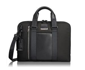 Men's Tumi Alpha Bravo Aviano Slim Briefcase B2635
