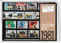L1903dms 1981 GB UK British Collector Stamp pack